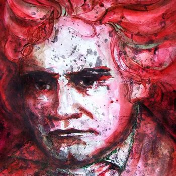 Beethoven | Gatis Cirulis Artist Painting Drawing